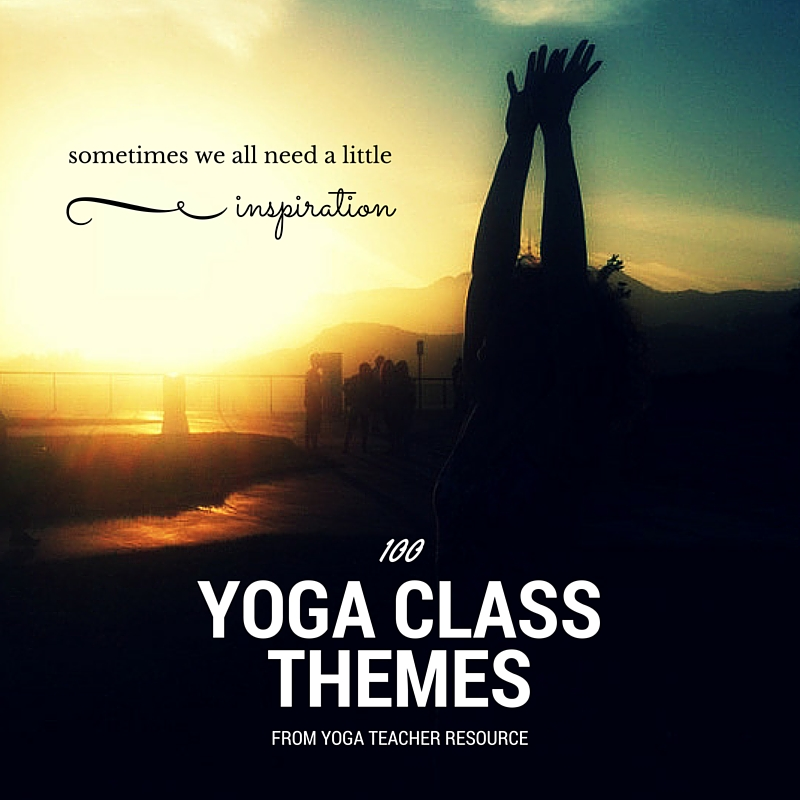 Yoga Class Planning | Yoga Teacher Resource